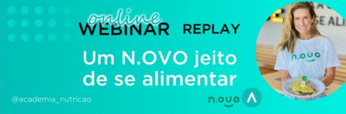 Um N.OVO jeito de se alimentar - Confira o replay do Webinar do N.OVO Plant-Based