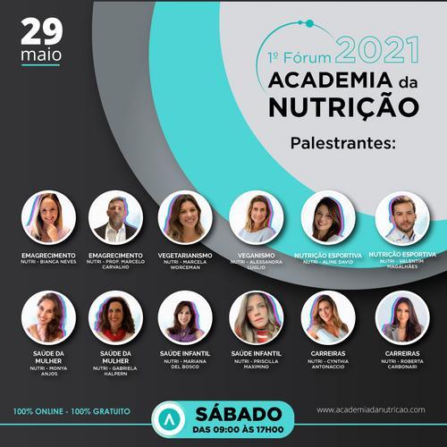 1° FÓRUM DA ACADEMIA DA NUTRIÇÃO