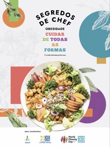 e-book Segredos do Chef. Obesidade - Cuidar de todas as formas.
